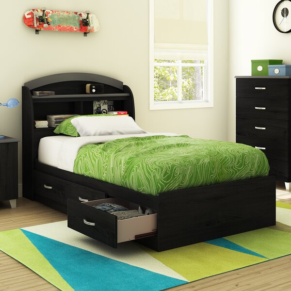 Lazer Twin Mate's & Captain's Bed with Drawers by South Shore