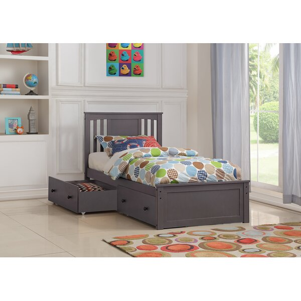 Colangelo Platform Bed with Drawer by Harriet Bee