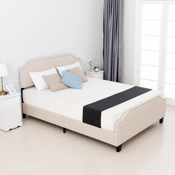 Kazan Linen Upholstered Platform Bed by Winston Porter