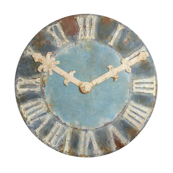 Christiansen 47.25 Decorative Wall Clock by Highland Dunes