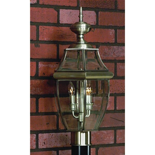 Millbrook Outdoor 2-Light Lantern Head by Three Posts