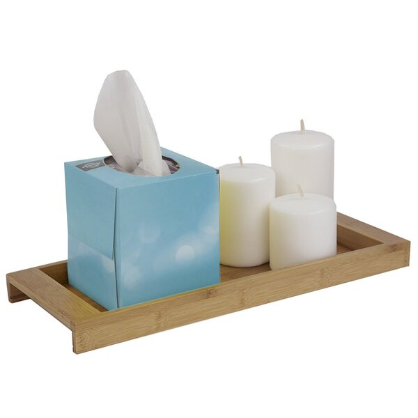 Riverland Bamboo Vanity Bathroom Accessory Tray by Bay Isle Home