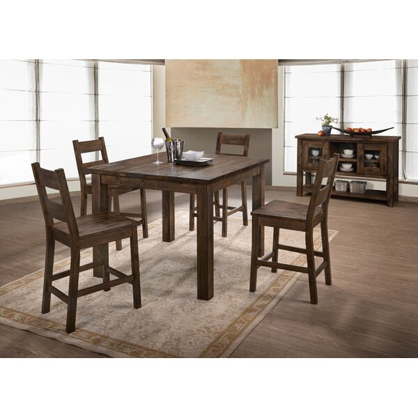 Clemons 5 Piece Dining Set by Loon Peak Loon Peak