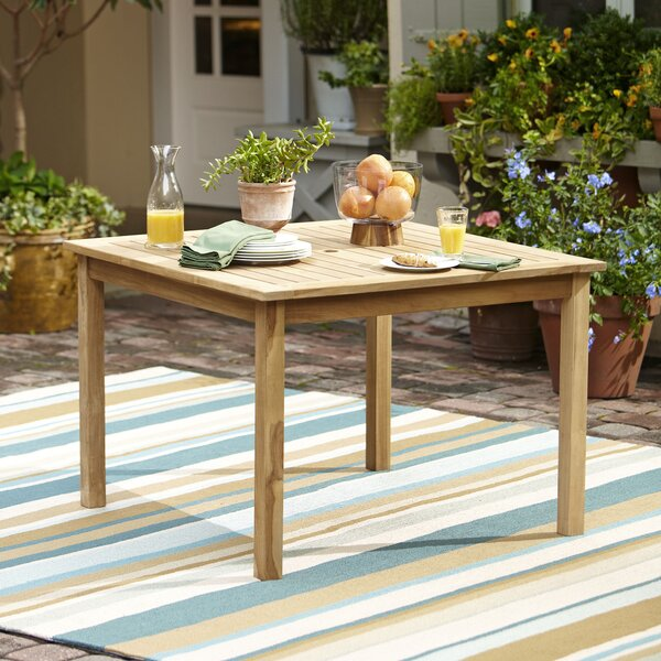 Summerton Teak Dining Table by Birch Lane™