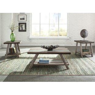 Kacey 3 Piece Coffee Table Set Mistana