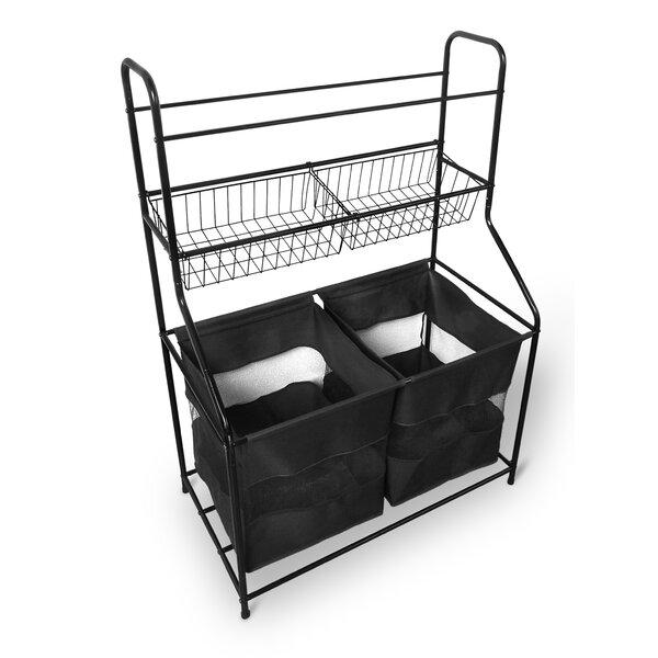 Sport Storage Organizer Freestanding Sports Rack by Bintopia