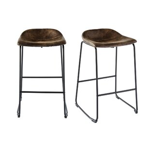 Gray 29 Bar Stool (Set of 2) by Williston Forge