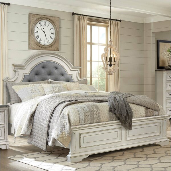 Kiro Queen Upholstered Standard Bed by One Allium Way