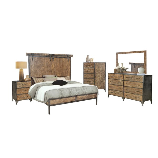Hessler King Sleigh 4 Piece Bedroom Set by 17 Stories