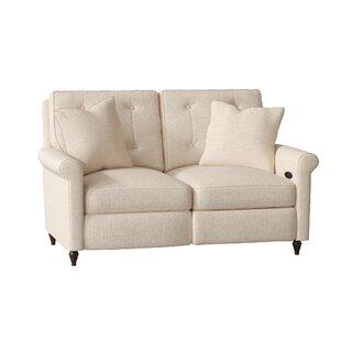 Allen Reclining Loveseat by Wayfair Custom Upholstery™
