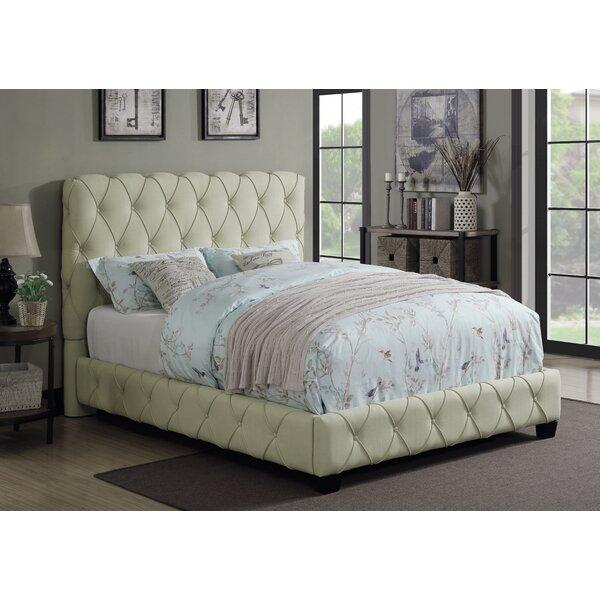 Nyla Upholstered Standard Bed by Rosdorf Park