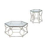 Frostia 2 Piece Coffee Table Set by Orren Ellis