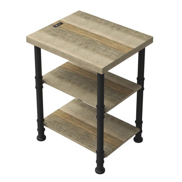 Millen End Table With Storage By Three Posts