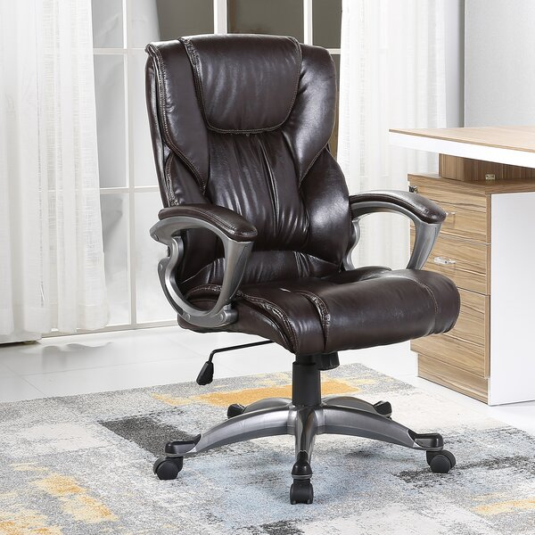 Stapleford Ergonomic High-Back Executive Chair by Andover Mills