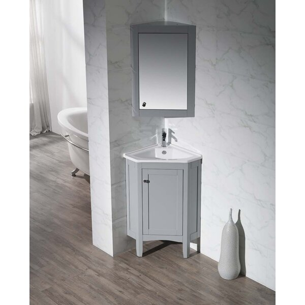 Argo 25 Single Bathroom Vanity Set by dCOR design
