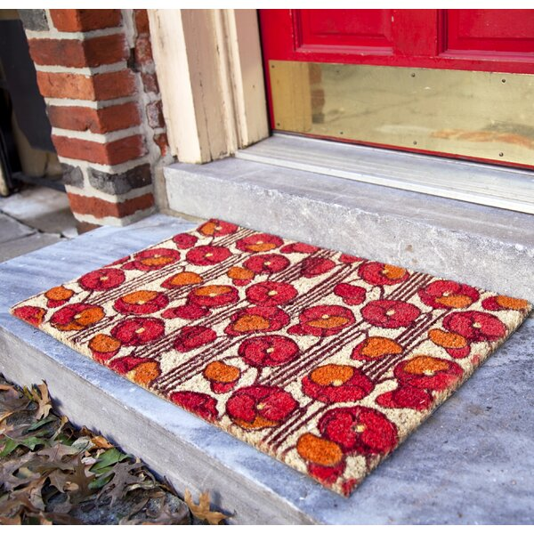 Seabolt Poppies Doormat by Latitude Run