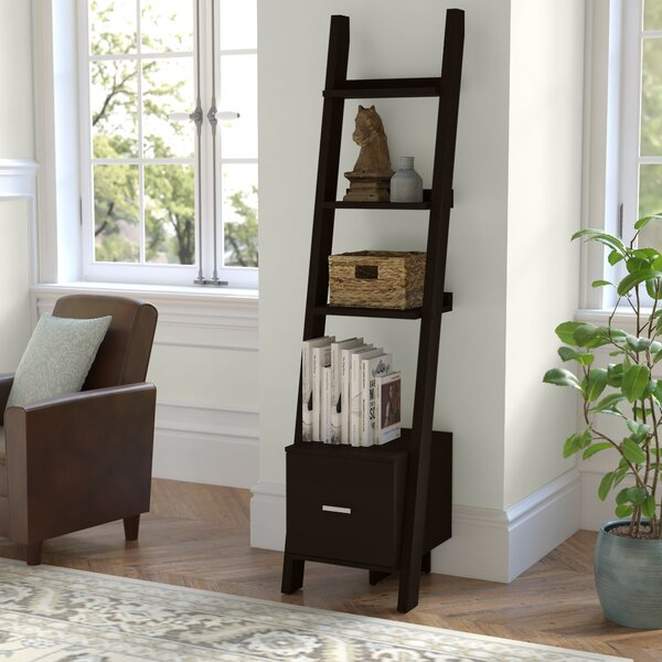 Camas Ladder Bookcase By Ebern Designs
