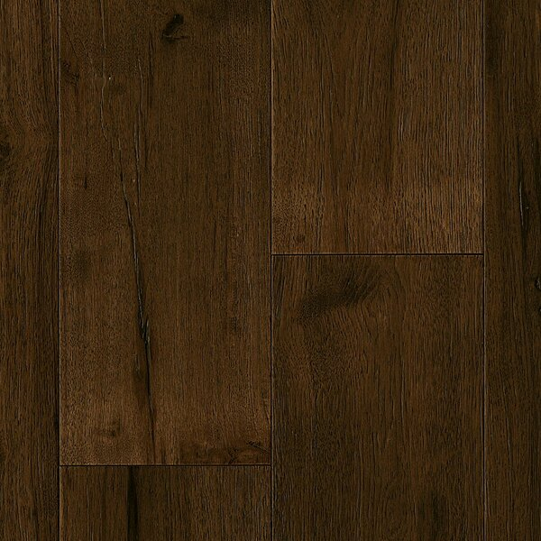 7-1/2 Engineered Hickory Hardwood Flooring in Deep Etched Mountain Retreat by Armstrong Flooring