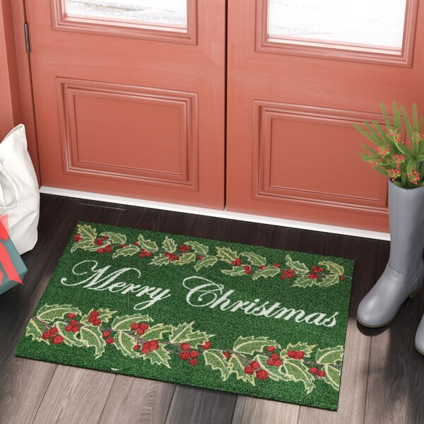 Once Upon a Christmas Green Indoor Area Rug by Kathy Ireland Home