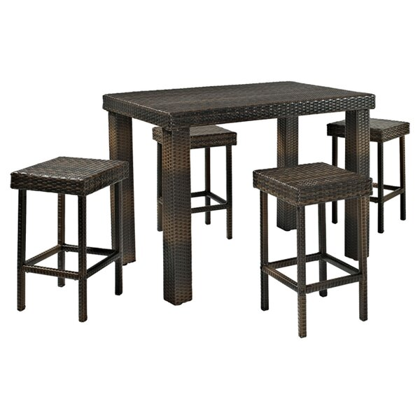 Belton 5 Piece Bar Height Dining Set by Mercury Ro