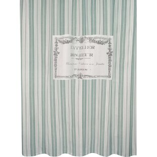 Metro Farmhouse Cotton Bonheur Shower Curtain By Park B Smith Ltd