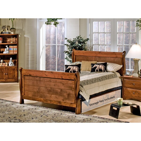 Rael Full Sleigh Bed by Harriet Bee