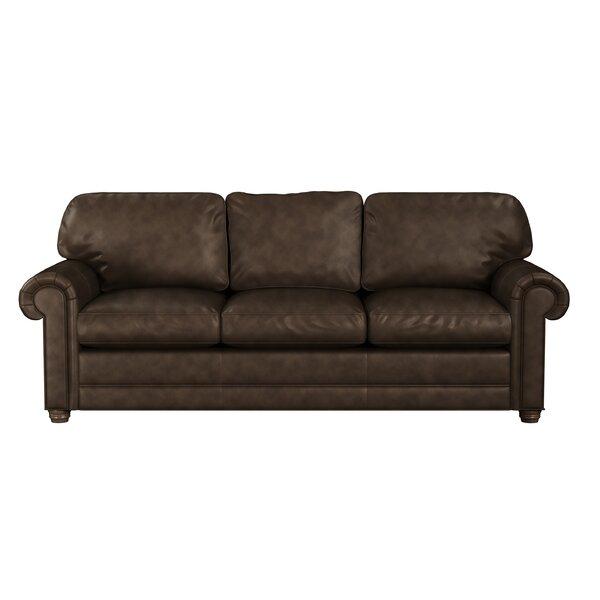 Home & Outdoor Oslo Leather Sofa Bed Sleeper