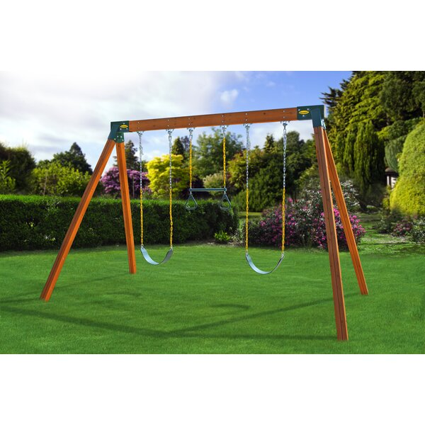 Classic Swing Set Kit by Eastern Jungle Gym