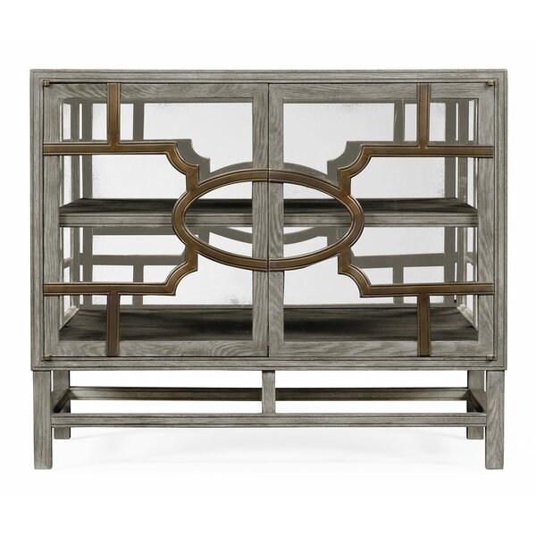 Urban Cool Hewlett Glazed Accent Cabinet by Jonathan Charles Fine Furniture