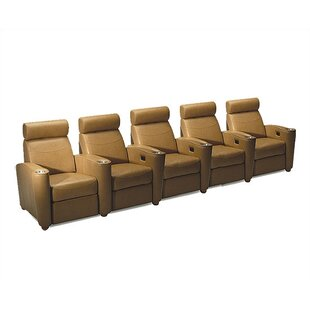 Diplomat Home Theater Lounger Row of 5  by Bass