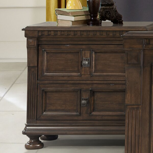 Annie 2 Drawer Nightstand by Astoria Grand