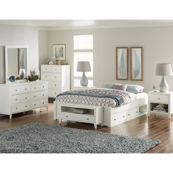 Granville Platform Bed with Drawers by Three Posts Baby & Kids