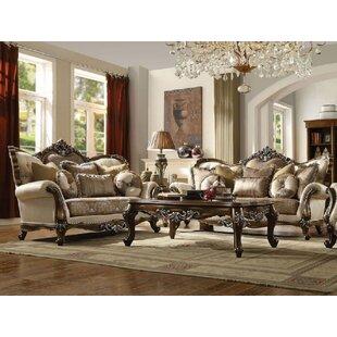 Samantha 2 Piece Living Room Set by Fleur De Lis Living