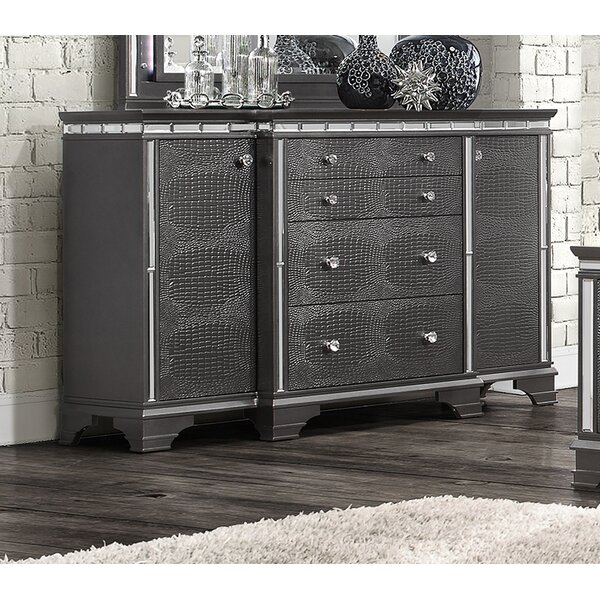Landgraf 4 Drawer Combo Dresser by Everly Quinn