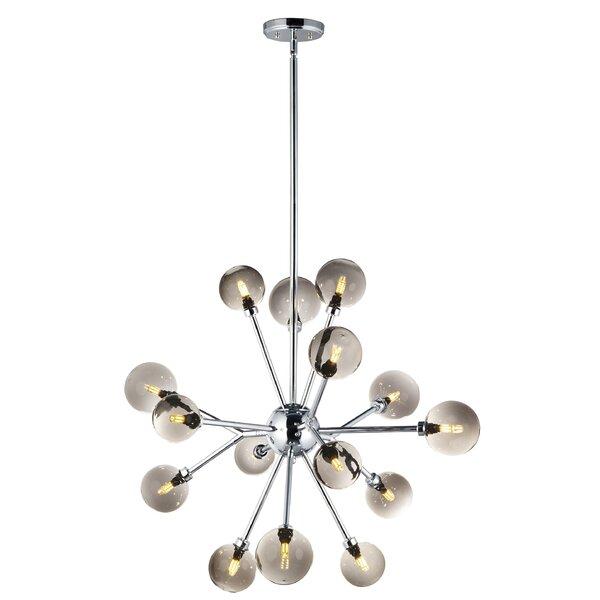 Ruzicka 15-Light Sputnik Sphere Chandelier by Wrought Studio Wrought Studio