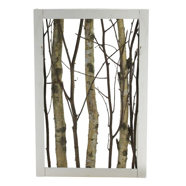 Harwich Branches in Wood Frame Table Top Sculpture by Union Rustic
