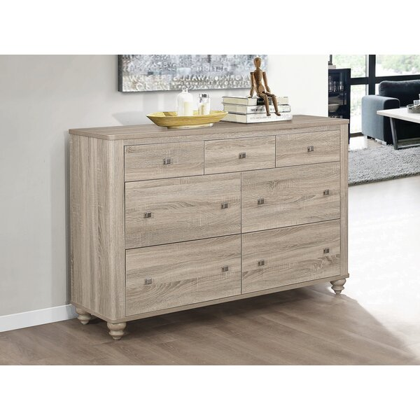 Jude 7 Drawer Double Dresser by Gracie Oaks