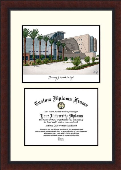 NCAA University of Nevada, Las Vegas Legacy Scholar Diploma Picture Frame by Campus Images