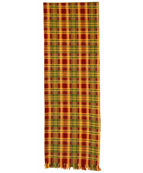 Fincham Plaid Table Runner (Set of 2) by Red Barrel Studio