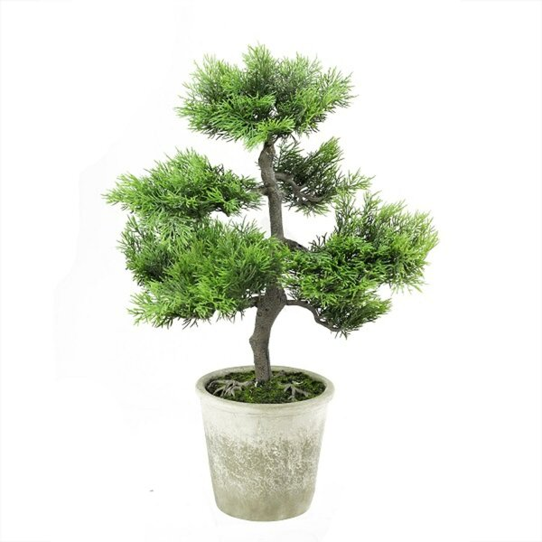 Decorative Artificial Japanese Bonsai Tree in Pot by Bungalow Rose