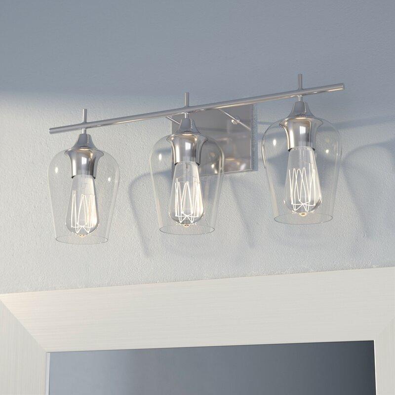 Staci 3-Light Vanity Light & Bathroom Vanity Lighting azcodes.com