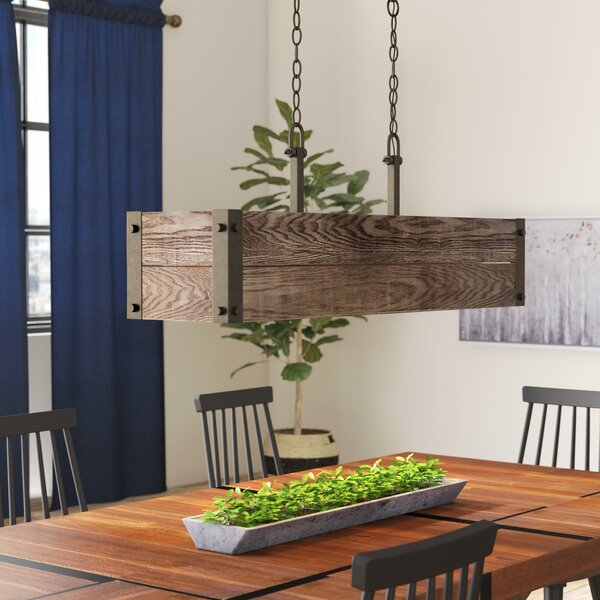Boda 4-Light Kitchen Island Pendant by Loon Peak