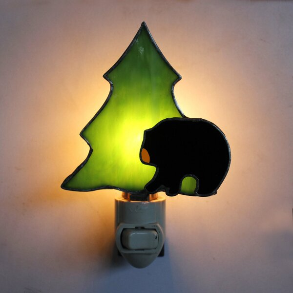 Bear with Tree Night Light by Gift Essentials