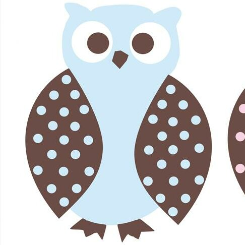 Owl Wall Decal by Alphabet Garden Designs