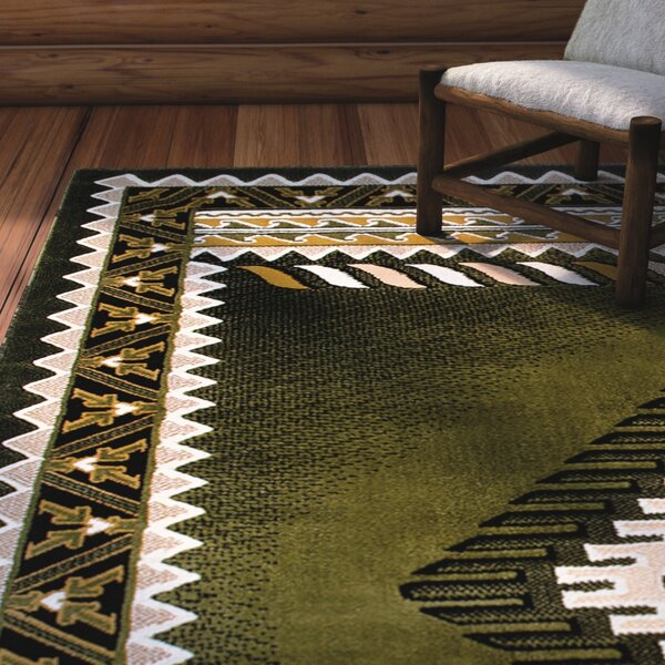 Iberide High-Quality Sage Green Area Rug by Loon Peak