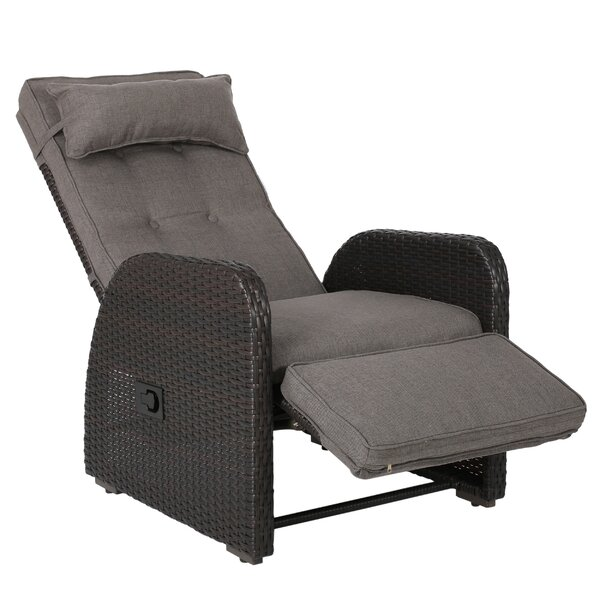 Keenes Outdoor Chair with Cushion by Darby Home Co