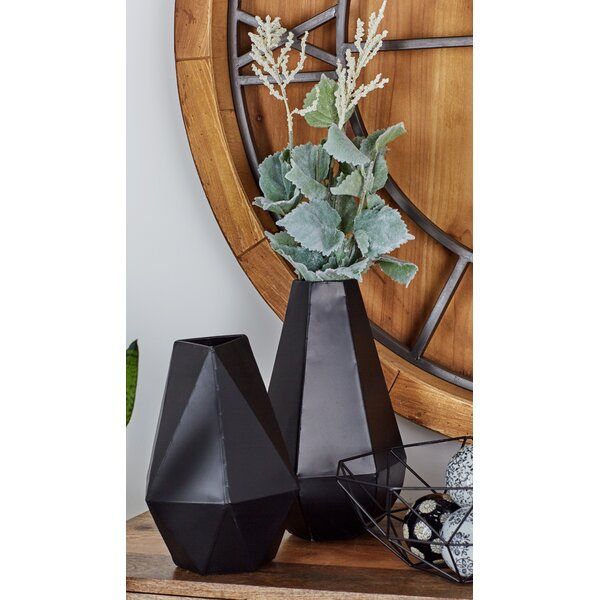 2 Piece Table Vase Set by Cole & Grey