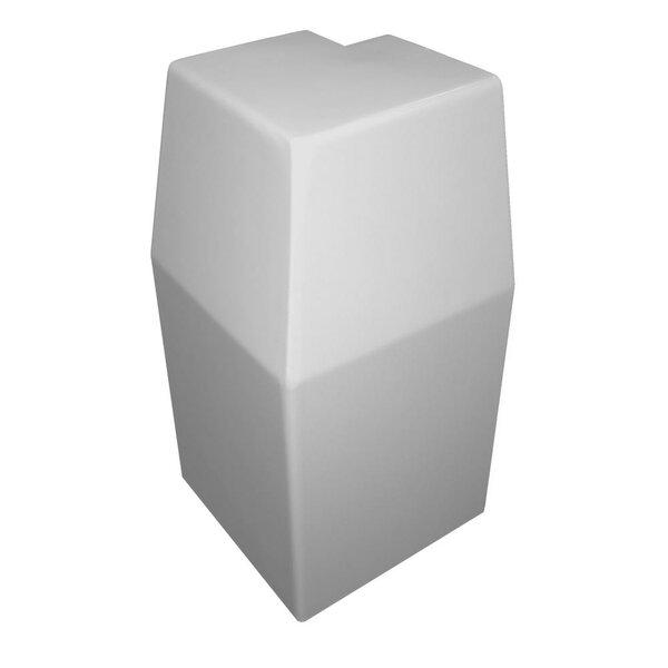 Premium Series Steel Easy Slip-On Baseboard Outside 90-Degree Corner Heater Cover By Baseboarders