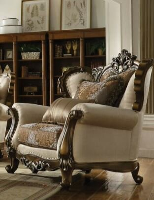 Caius Chair and a Half by Astoria Grand