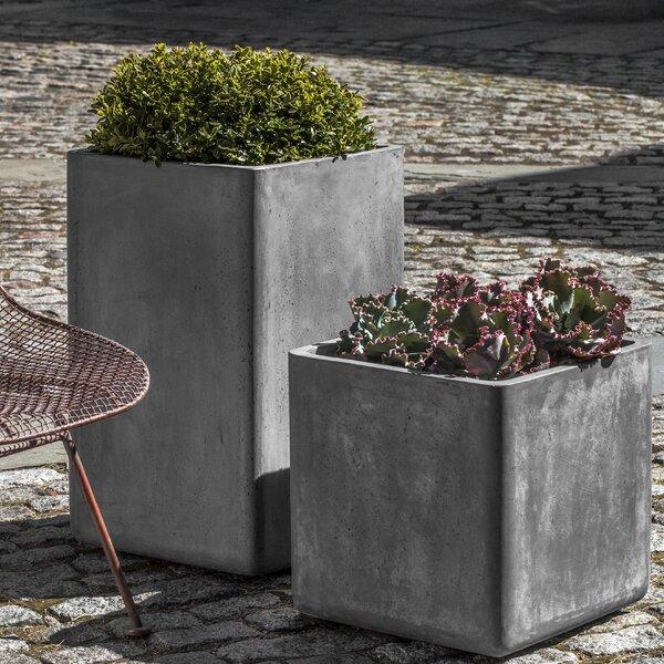 Urban 2-Piece Composite Pot Planter Set by Campania International